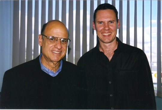 With Tony Campolo in 2004