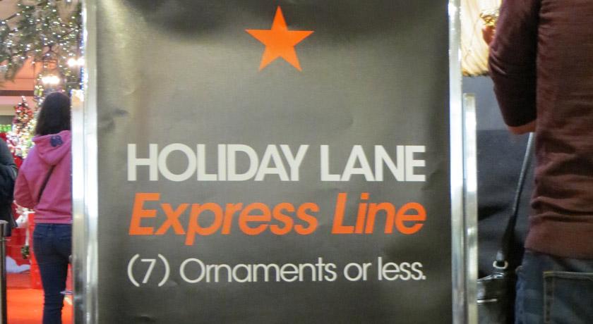 Macys Express Lane