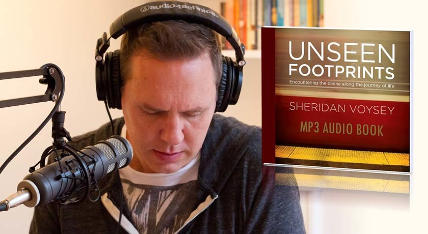 Sheridan Voysey and Unseen Footprints Audiobook