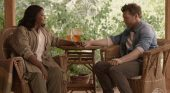 Image from The Shack of Mack (Sam Worthington) and Papa (Octavia Spencer)
