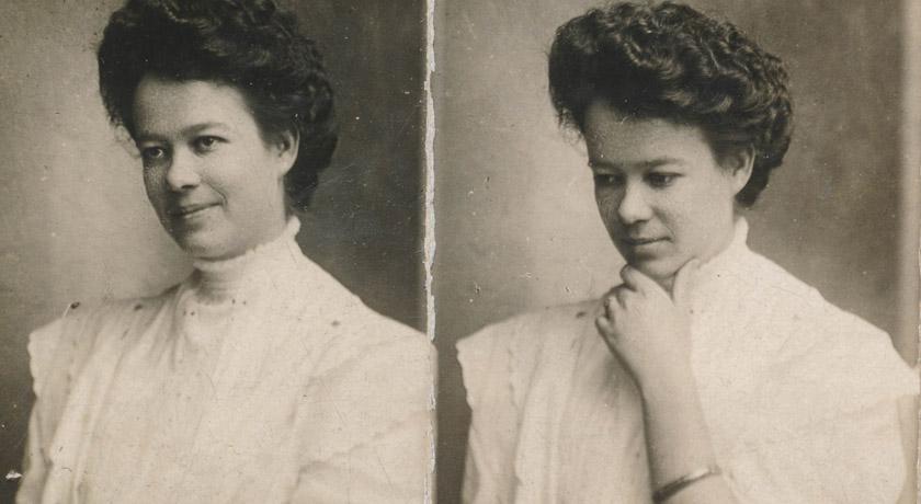 Antique portrait of a woman