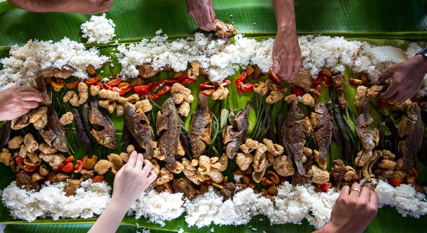 meal in the Philippines by avel-chuklanov