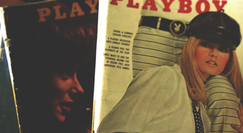 Old Playboy Magazine covers